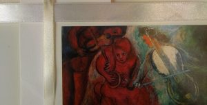 Marc Chagall, Ślub, porównanie bieli