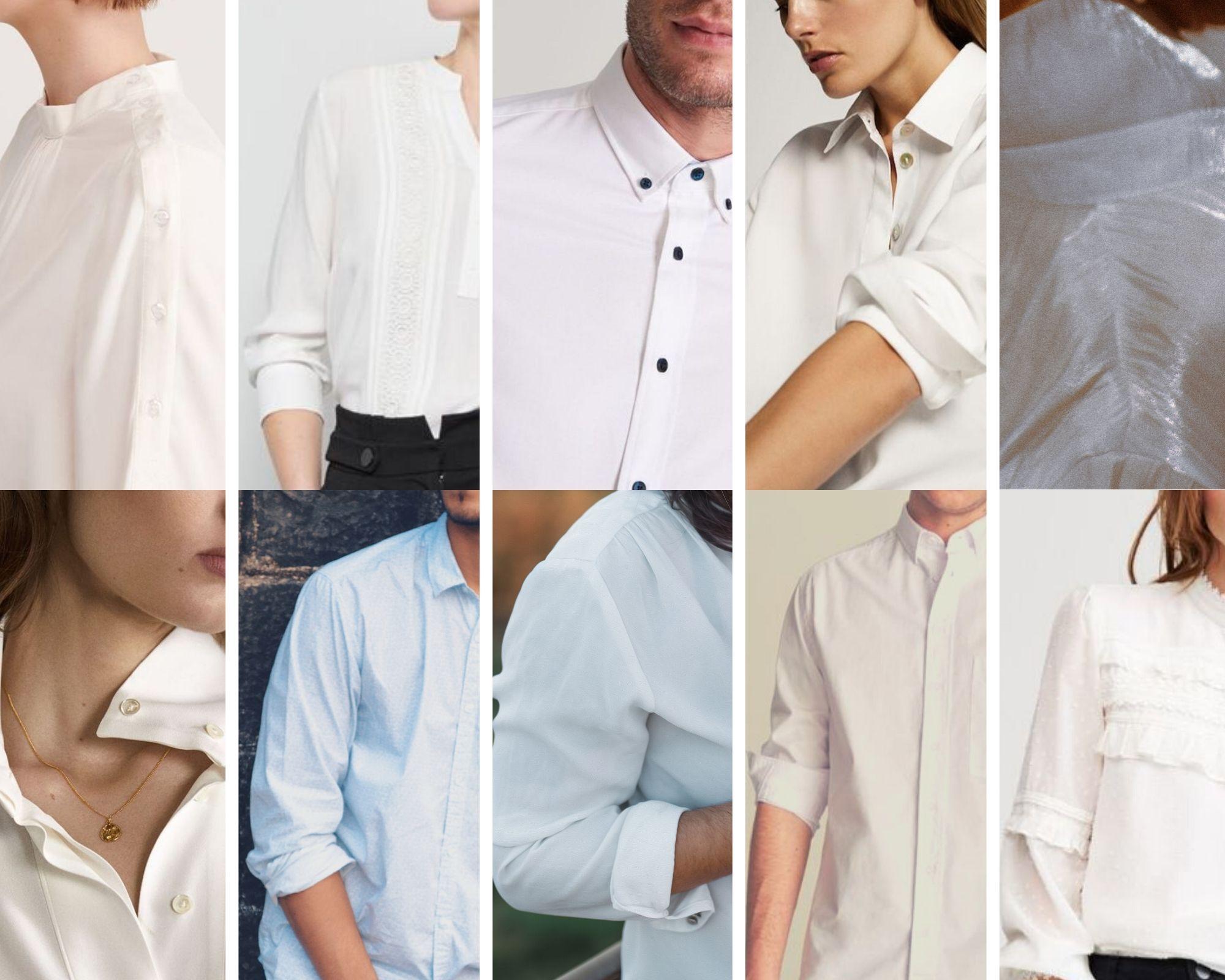 biała bluzka - właściwe kolory dla Zim