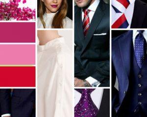Czerwień dla Prawdziwej Zimy - krawat i szminka