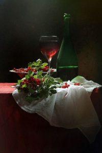 wino i owoce